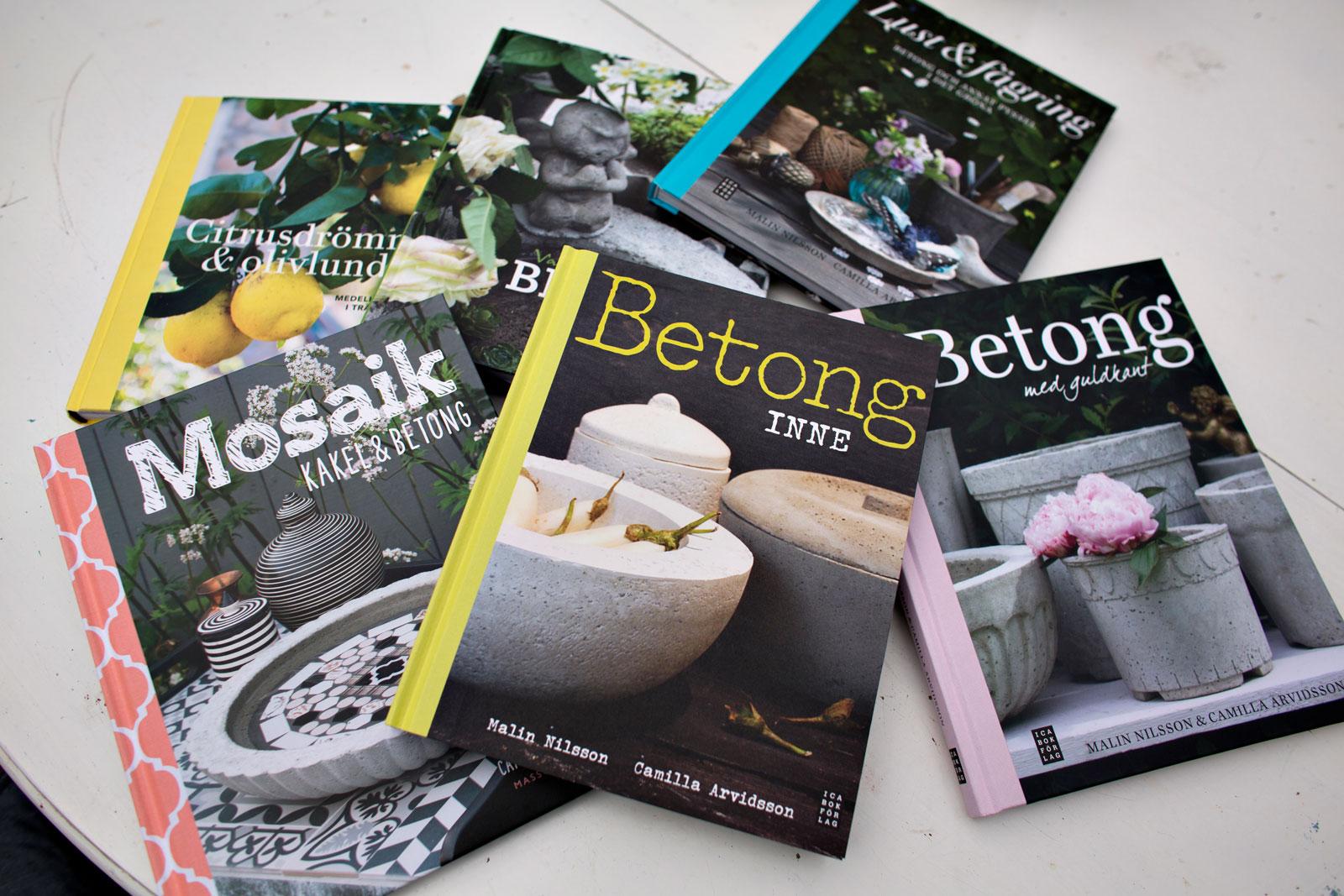 böcker om betonggjutning